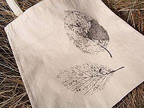 Nákupné tašky - Jesenná nákupná taška : Listová - 4195178_