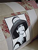 - Prikrývka - prehoz Audrey Hepburn - 4193864_