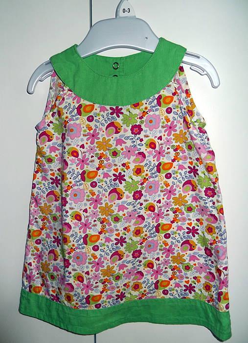 f74768c6f1e5 Letné šaty Pestré   kei - SAShE.sk - Handmade Detské oblečenie