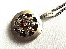 Náhrdelníky - medailón Venice - 4198467_