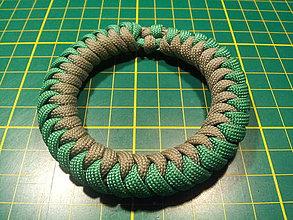 Náramky - Hadí uzol, náramok z paracordu - 4201197_