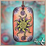 Náhrdelníky - Amulet - Amaq el Behar - 4198026_