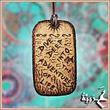 Náhrdelníky - Amulet - Amaq el Behar - 4198028_