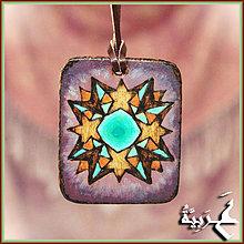 Náhrdelníky - Amulet - Hviezdna brána - 4198153_
