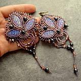 - Bollywood earrings - Amethyst - 4198908_