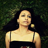 - Bollywood earrings - Golden Ruby - 4198937_