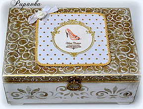 Krabičky - Glamour šperkovnica - 4199260_