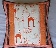 Textil - Cica-mica vankúšik - 4200489_