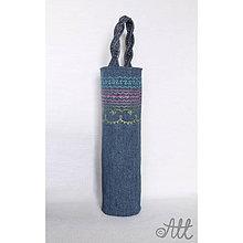 Taštičky - Originálna darčeková taška na fľašu - 4198871_