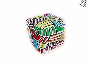 Úžitkový textil - _HOPA a pestrofarebné CiKy-CaKy - 4203294_