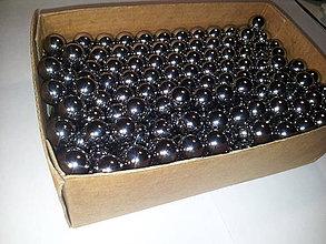 Iný materiál - Chróm oceľové guličky, 13,5mm; 35 ks - 4201217_