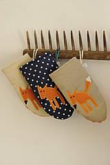 Úžitkový textil - Líštičky  - 4201888_