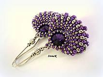 Náušnice - Violet - 4202848_