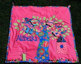 Hračky - Hracia deka pre Alžbetku - 4204651_