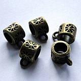 - Závesná korálka 5x7mm-st.mos-1ks - 4206715_