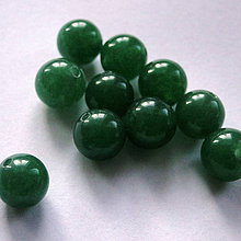Minerály - Aventurín-1ks (zelený 8mm) - 4206658_