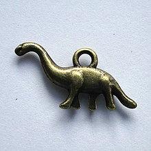 Komponenty - KPr-dinosaurus 13x25mm-st.bronz-1ks - 4206826_