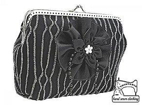 Kabelky - Spoločenská kabelka do ruky  , dámská kabelka 0990A - 4207350_