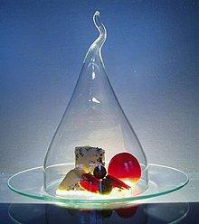 Nádoby - kryt na sýr vč.skleněného talíře - 4208592_