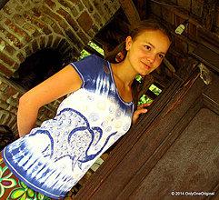 Tričká - Nemyslite na modrého slona - 4208409_