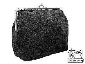 Kabelky - Spoločenská kabelka do ruky ,  taštička  0524A - 4212122_