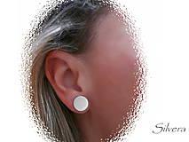 Náušnice - Stříbrné naušnice 925 FULL WHEELS - 4213003_
