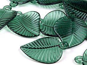 Korálky - lístoček z brezy - 4210491_