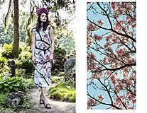 """Šaty - """"Magnolia tree"""" - 4211789_"""