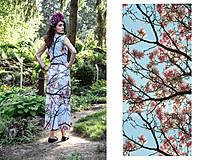 """Šaty - """"Magnolia tree"""" - 4211790_"""