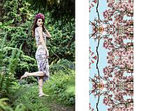 Šaty - Magnolias mirrors - 4211840_
