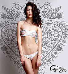 Bielizeň/Plavky - Country girl- white - 4211299_