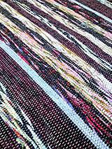 Úžitkový textil - Rohožka bordó 75x72cm - 4210504_