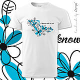 Tričká - Pánske tričko john KTO SOM - 4209959_