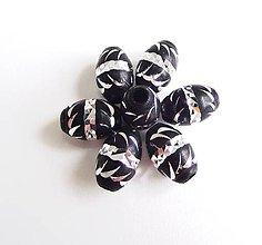 Korálky - Aluminio karbonady ovals - 4213454_