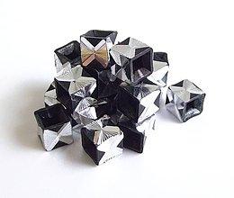 Korálky - Aluminio Moreno cube - 4214661_
