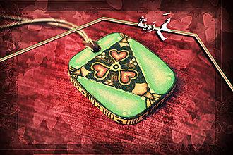 Náhrdelníky - Amulet - Chuť lásky - 4218556_