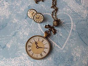 Sady šperkov - Vreckové hodinky   5 - ZĽAVA - 4218518  7bc1d36b845