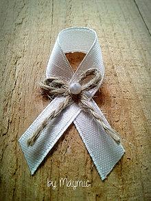 Pierka - svadobné pierko-natur - 4217479_