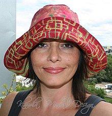 Čiapky - originálny farebný klobúk na dve strany - 4221975_