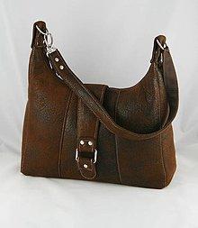 Kabelky - taška Texas hnedá - 4221408_