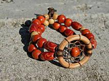 Náramky - Červený indián - 4224839_