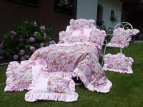 Úžitkový textil - Vidiecke obliečky s volánom - 4225183_