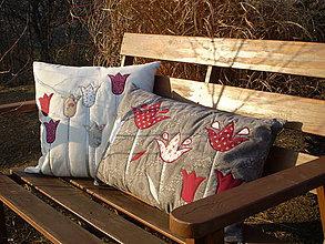 Úžitkový textil - Tulipkový  - 4228338_