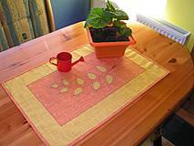 Úžitkový textil - pekné stolovanie - 4228331_