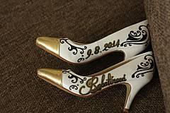 - Luxury lodičky k popolnočným šatám - 4229490_