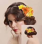 Ozdoby do vlasov - HEADDRESS Ivica Sláviková - veľká čelenka, lemujúca účes až po zátylok - by Hogo Fogo - 4229615_