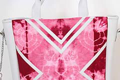Veľké tašky - Velká s batikou - 4237978_