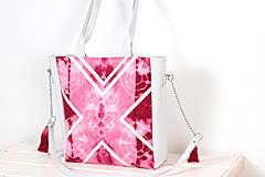 Veľké tašky - Velká s batikou - 4237979_