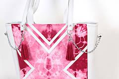 Veľké tašky - Velká s batikou - 4237981_