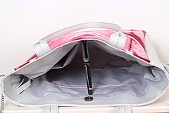 Veľké tašky - Velká s batikou - 4237982_